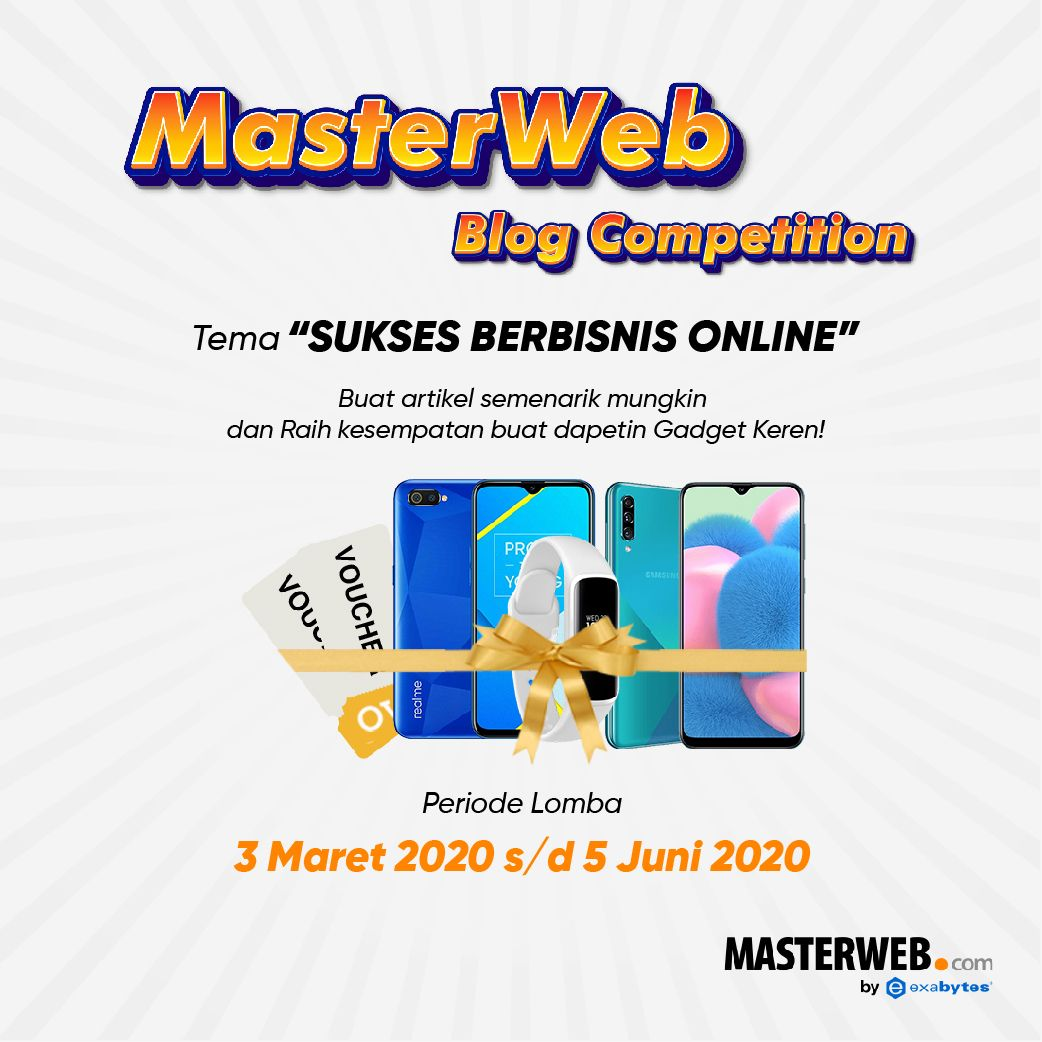 MasterWeb Blog Competition