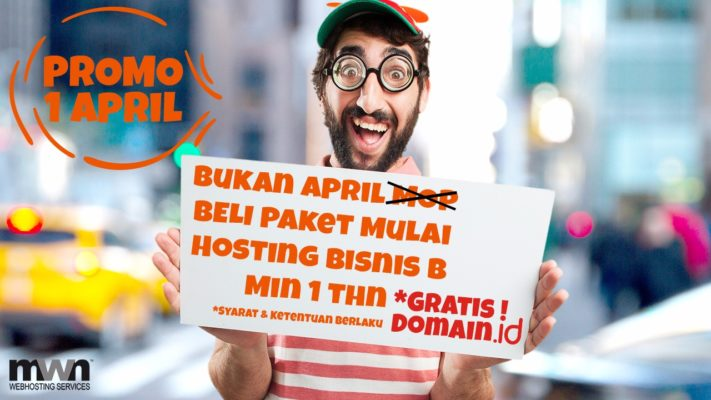 domain gratis awal april