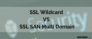 SSL Wildcard VS SSL SAN Multi Domain 1