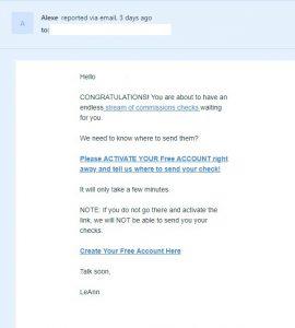 checksum scams 1
