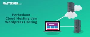 Perbedaan cloud hosting dan wordpress hosting 1