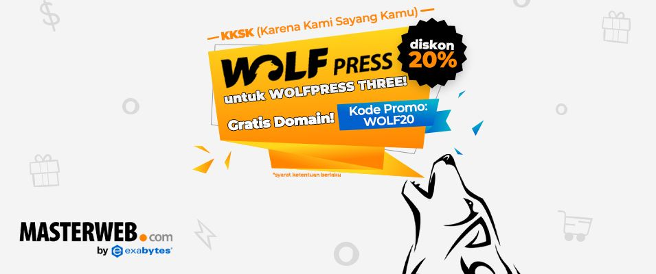 Promo Hosting WolfPress