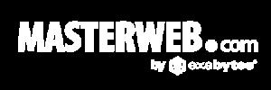 Logo Masterweb white