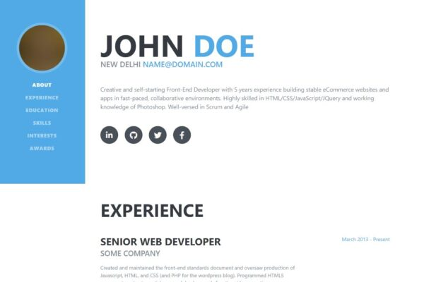 Buat Cv Online Dengan Domain